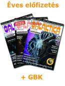 Éves Galaktika előfizetés + GBK tagság!