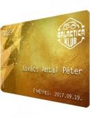 Galaktika Klub Aranykártya