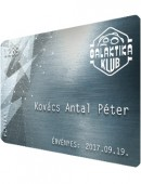 Galaktika Klub Platinakártya