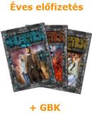 Éves Galaktika XL előfizetés + GBK tagság!