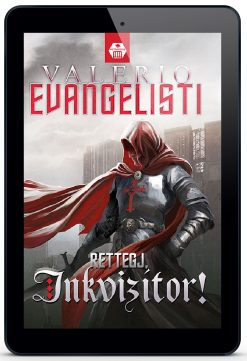 valerio evaneglisti rettegj inkvizitor e-könyv sci-fi
