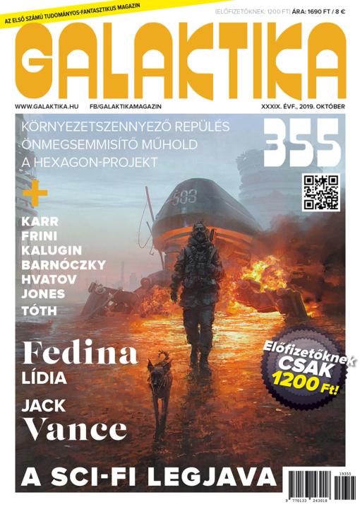 galaktika 355 magazin sci-fi