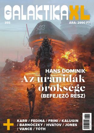 galaktika 355 xl magazin sci-fi